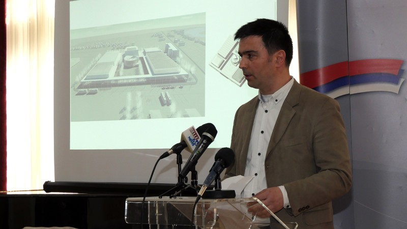 Експо центар у Нишу и његово идејно решење
