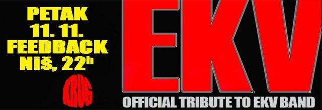 Ulaznice u prodaji za Krug - Official Tribute to EKV band - 11. novembra u Nišu