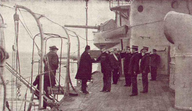 Esad-paša napušta Drač 1916.