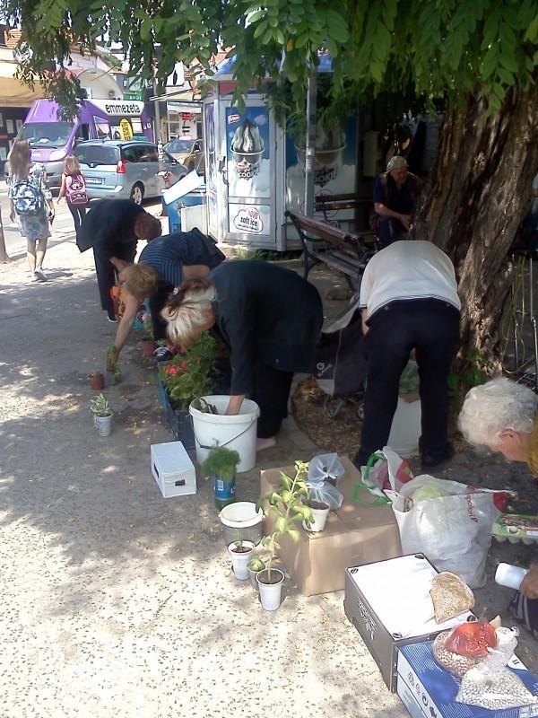 Уклоњени ванпијачни продавци око булеварске пијаце