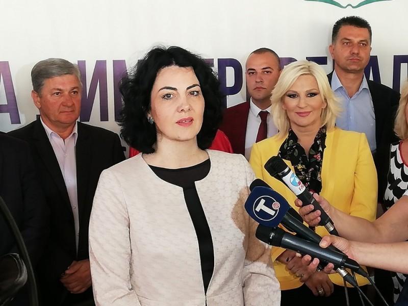 Susret ministarke Mihajlović i načelnice Sotirovski