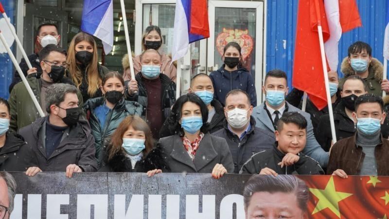 Градоначелница Сотировски посетила Кинезе који живе у Нишу и честитала им Нову годину