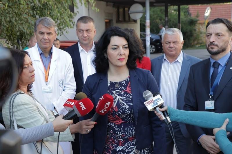 Добра сарадња Нишавског округа и општине Гаџин Хан, резултирала донацијом КЦ Ниш