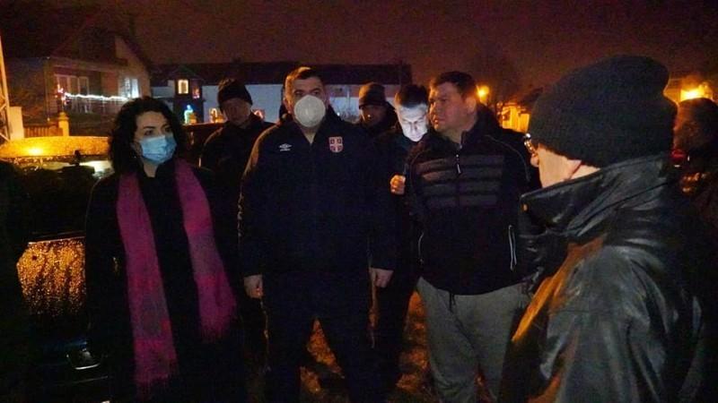 Kritično u Popovcu i Lalincu - Sotirovski obišla ugrožena područja od poplava