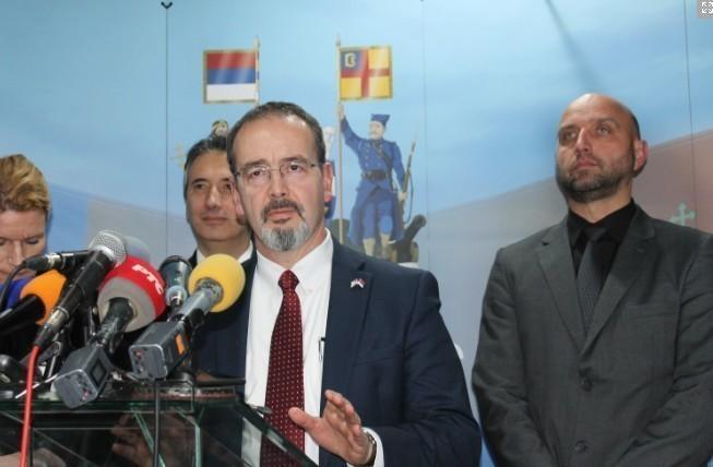 Ambasador SAD prvi put u Vranju
