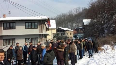 Грделица, протест ф:ЈугМедиа