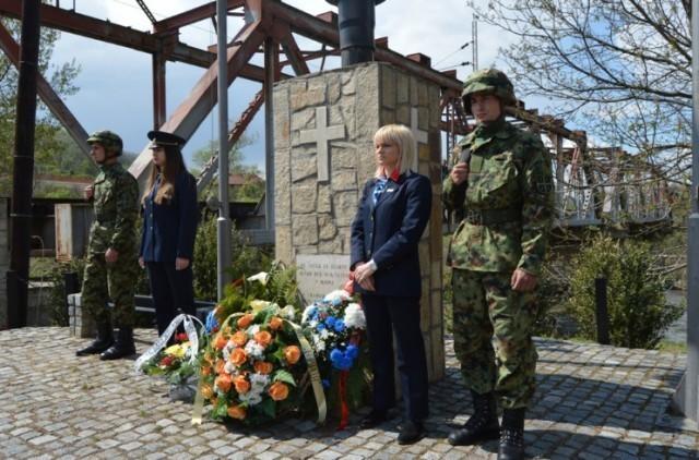 Комеморација поводом двадесетогодишњице од ракетирања путничког воза у Грделици