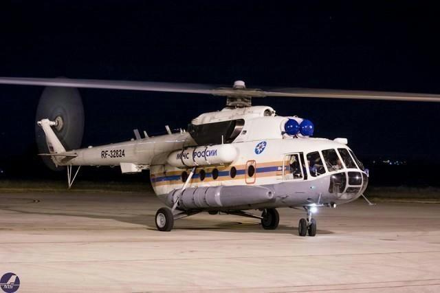 Helikopter MČS-a Rusije na srpskom nebu (FOTO)
