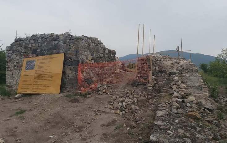 Реконструкција и уређење Тврђаве на прокупачком Хисару