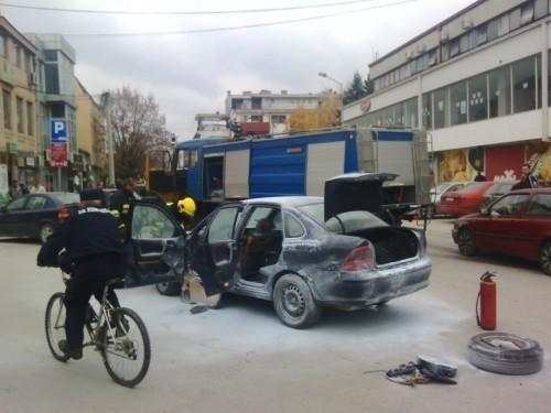 Izgoreo automobil u centru Bujanovca