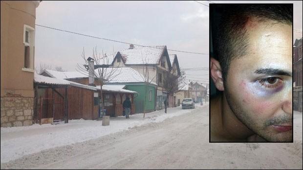 Место где се одиграо напад на Поповића, Фото: В.Новости
