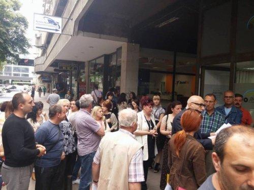 Protest, Foto NIške vesti