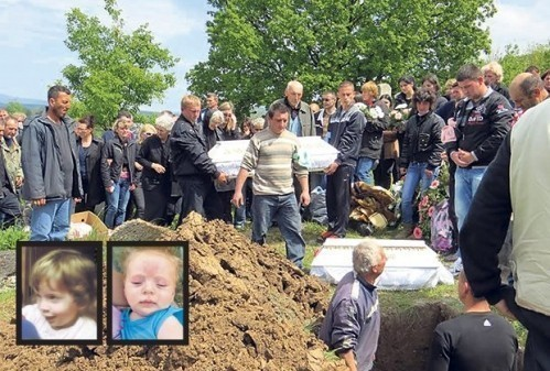 Sahranjena deca koja su se utopila, stricu od tuge prepuklo srce!