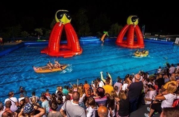 """City games"" на базену код Спортске хале"