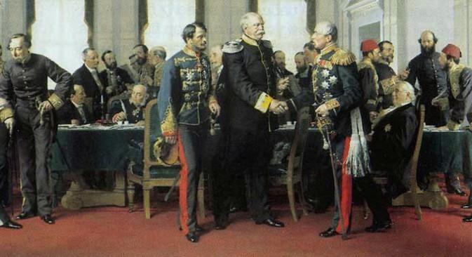 Антон фон Вернер, Берлински конгрес, 13. јул 1878. (1881). Конгрес из 1878. је последњи међународни форум на коме деловање великих сила није било оптерећено блоковском припадношћу.