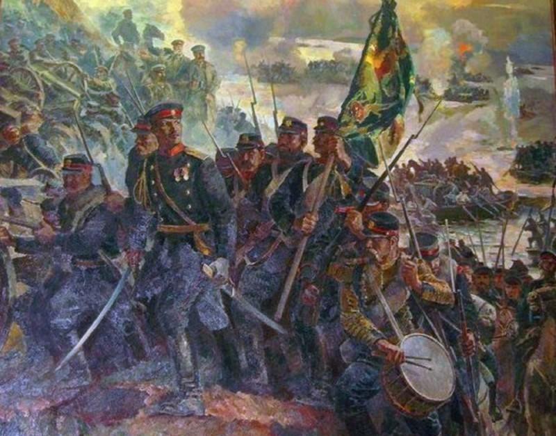 Битка код Плевне, руско-турски рат (1877-1878).