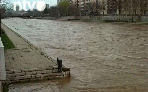 Nišava opala pola metra, poplave neće biti