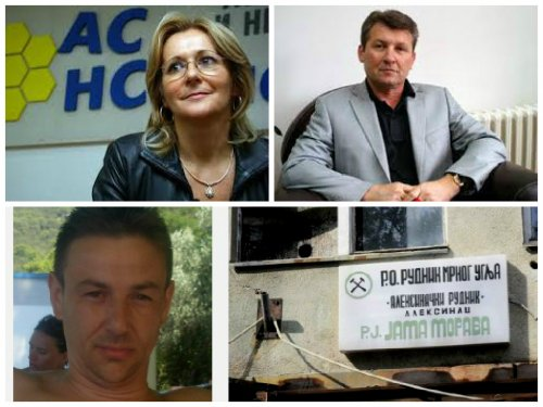 Ranka Savić i Dragan Milovanović posetili Aleksinačke rudare