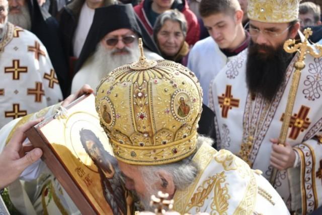 Свечану литургију поводом 500 година Јашуњског манастира служио патријарх Иринеј (ФОТО)