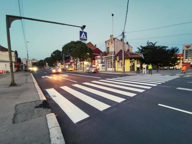 Obnovljen asfalt u jednoj od najprometnijih ulica u Nišu