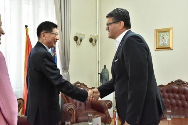 Састанак са амбасадором Јапана у Србији