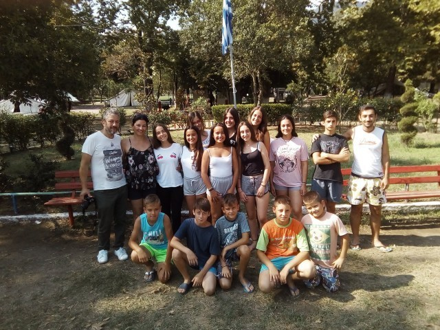 Дечји камп у Ставросу, пун радости и смеха (ФОТО)