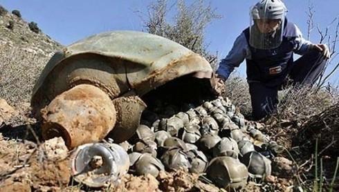 Пронађено преко 700 неексплодираних бомби