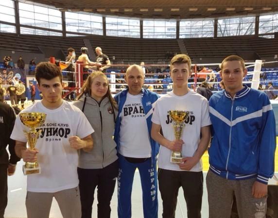 Medalje za mlade kik boksere iz Vranja