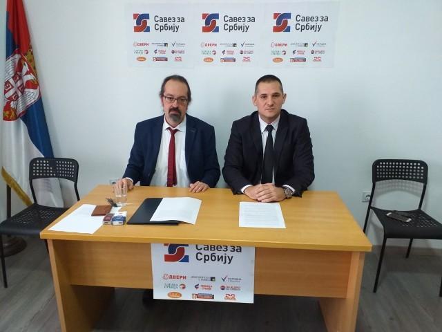 """""""Савез са Србију"""" у Нишу оптужује РТС за тендециозно извештавање"""