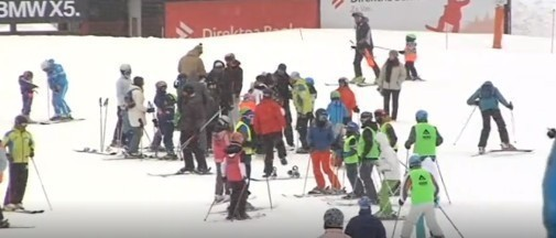Kopaonik, turisti i skijanje u martu