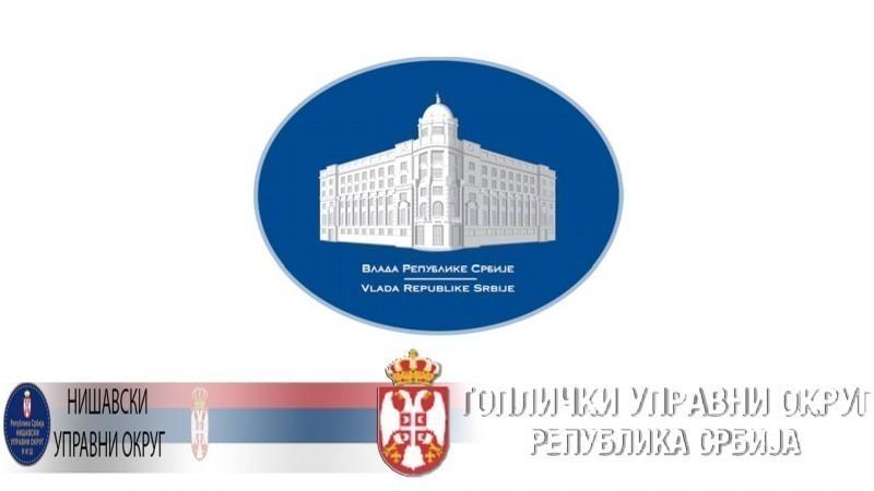 Vlada formirala Štab za upravljanje krizom u Nišavskom i Topličkom okrugu, među članovima načelnici Sotirovski i Aranđelović