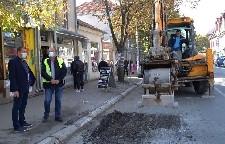 Проблем Прокупља и одржавања магистралног пута који пролази кроз центар града