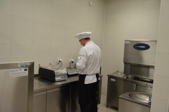 Нова модерна кухиња за практичну обуку студената