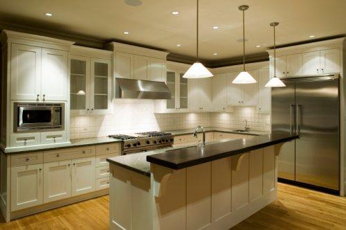 Оплемените трпезарију и кухињу само помоћу осветљења