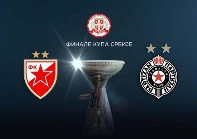 Finale Kupa Srbije i borba između Zvezde i Partizana igra se u Nišu