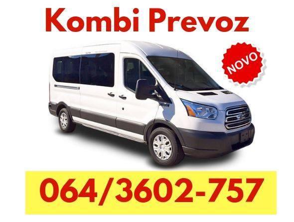 Kombi prevoz robe Nova Pazova - 064 360 27 57