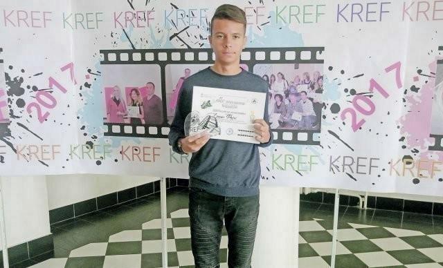 """Osnovac u """"Majnkraftu"""" uredio centar Aleksinca, pa osvojio IT nagradu"""