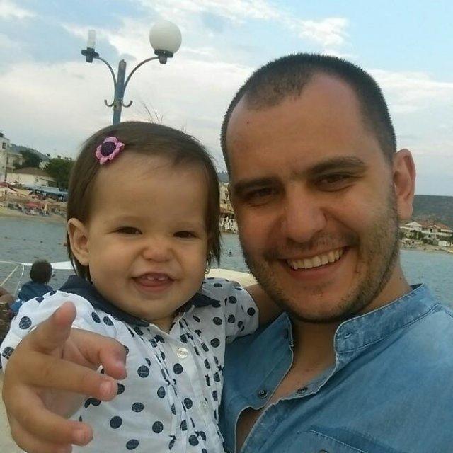 Lena i otac Dušan, Foto: Fejsbuk