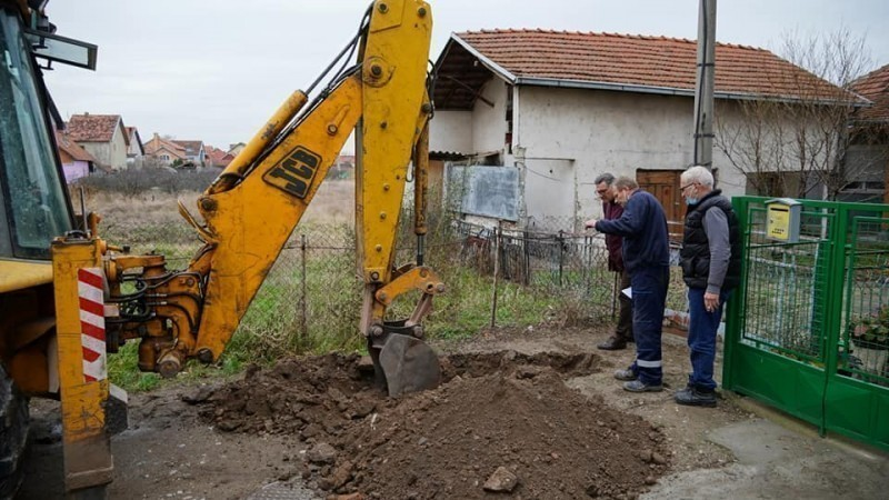 Након 20 година житељи Ливадске улице добијају водоводну мрежу