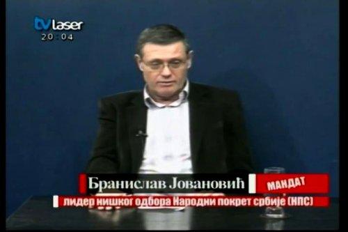 """Jovanović u emisiji """"Mandat"""": Afere i fabrikovanje, a Niš stoji i tone (VIDEO)"""