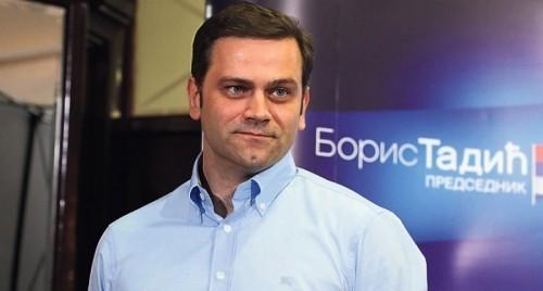 ''Политика ДС је против СНС и Вучића''