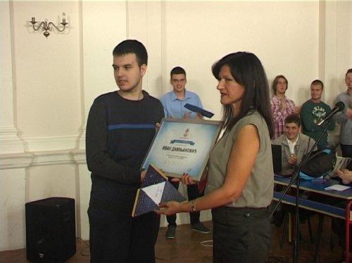 Priznanje za bivšeg đaka gimnazije Bora Stanković (video)