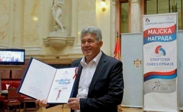 Miroslav Todorović dobitnik Majske nagrade
