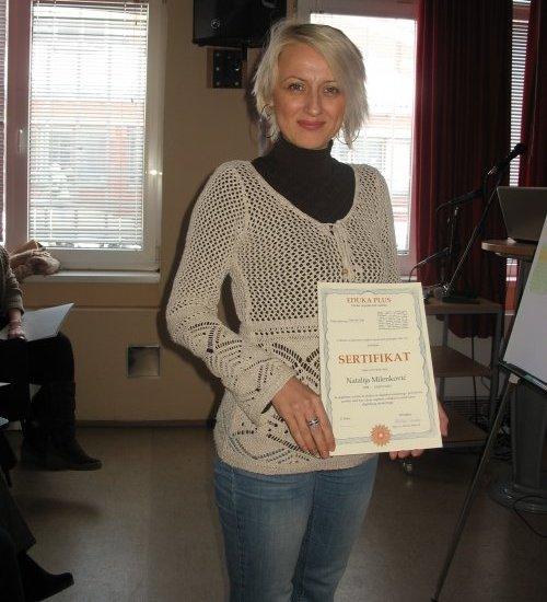 Наталија Миленковић, наставница из Ниша