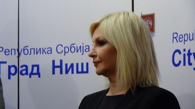 Зорана Михајловић: Гасовод Ниш-Димитровград се убрзано гради