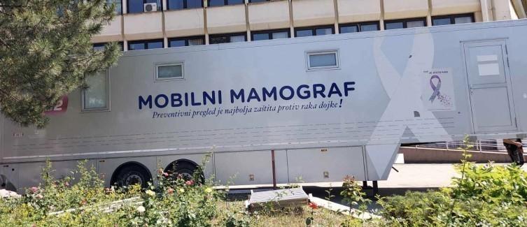 Mobilni mamograf u Leskovcu - pregledi od 14. juna