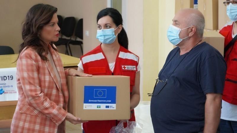 Министарка Обрадовић позвала становнике ромског насеља да се вакцинишу