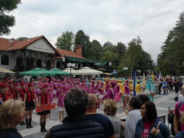 20. Европско првенство мажореткиња у Сокобањи