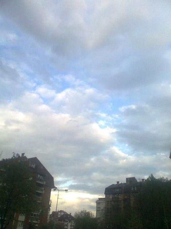 Од сутра местимично кишовито - за наредну недељу спремите кишобране