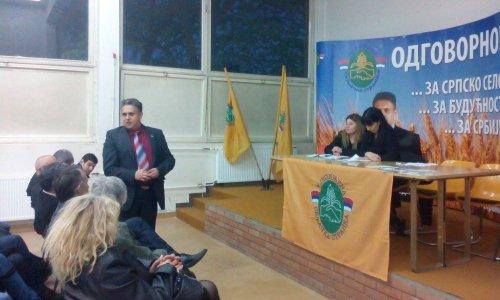 Milija Miletić, predsednik Ujedinjene seljačke stranke, Foto: JSI
